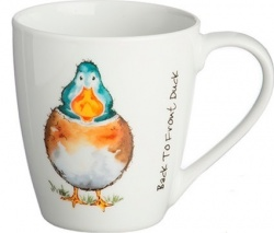 Mug pato Back to Front