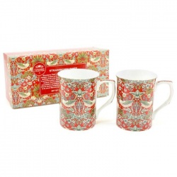 Mug Strawberry Thief - Juego de 2
